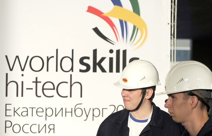 Чемпионат WorldSkills Hi-Tech собрались сделать евразийским