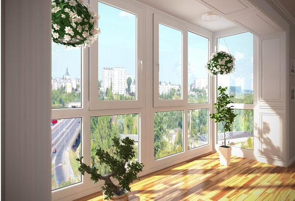 пластиковые окна пример