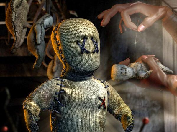 Ритуалы для похудания с использованием куклы Вуду